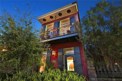 Single Family Home For Sale: 621 Mandeville Street