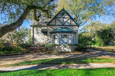 Metairie Single Family Home For Sale: 228 Atherton Drive