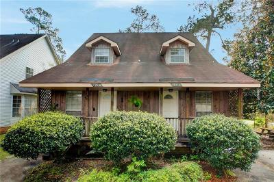 Multi Family Home For Sale: 775 Bayou Liberty Road #H