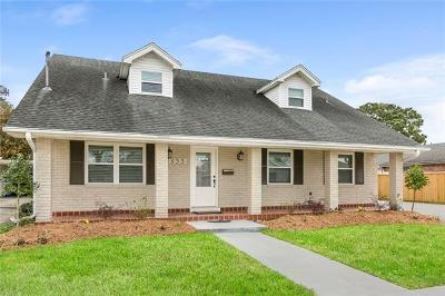 Metairie Single Family Home For Sale: 833 Rosa Avenue