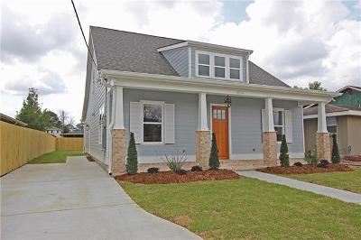Metairie Single Family Home For Sale: 1504 Carnation Avenue