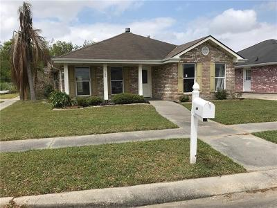 Mereaux, Meraux Single Family Home For Sale: 3100 Blomquist Drive