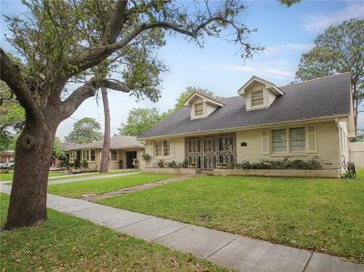 Metairie Single Family Home For Sale: 921 Sena Drive