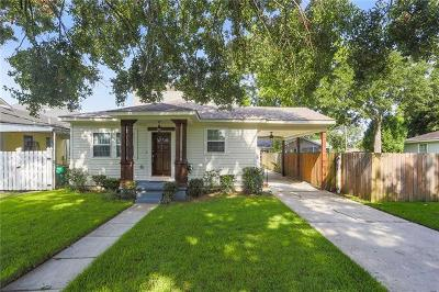 Metairie Single Family Home For Sale: 536 Metairie Lawn Drive