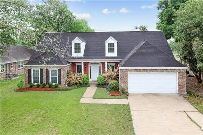 Destrehan Single Family Home For Sale: 190 Villere Drive