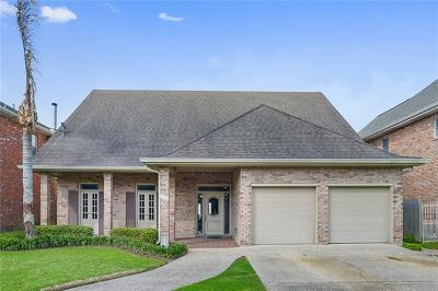 Kenner Single Family Home For Sale: 5304 Cocos Plumosas Drive