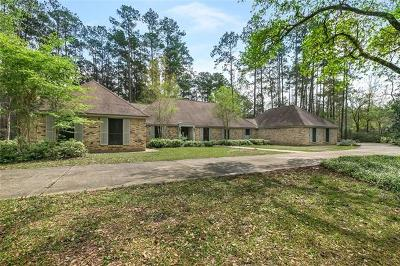 Madisonville Single Family Home For Sale: 721 Hwy 1085