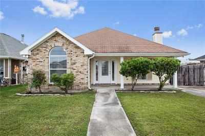 Mereaux, Meraux Single Family Home For Sale: 4429 Stella Drive