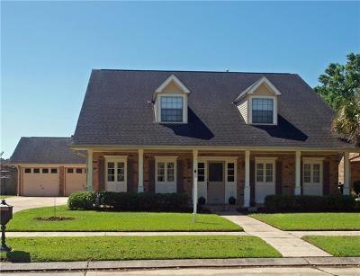 River Ridge, Harahan Single Family Home For Sale: 7308 O'neil Drive