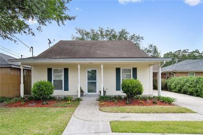 River Ridge, Harahan Single Family Home Pending Continue to Show: 713 Tullulah Avenue