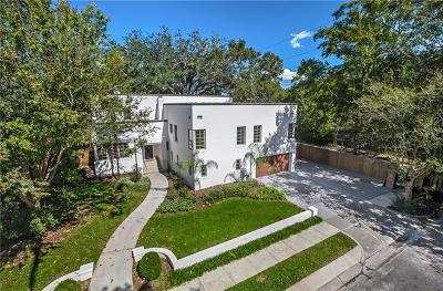 Metairie Single Family Home For Sale: 3 Fairview Court