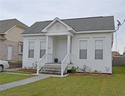 Gretna Single Family Home For Sale: 723 Bellemeade Boulevard