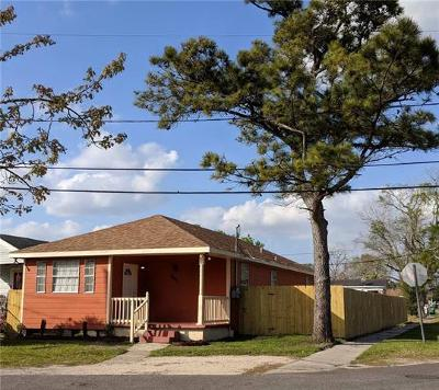 Single Family Home For Sale: 8401 Milan Street