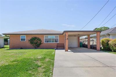 Marrero Single Family Home For Sale: 1136 Farrington Drive