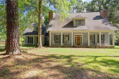 Covington Single Family Home For Sale: 79121 Fitzgerald Church Road