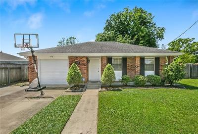 Kenner Single Family Home For Sale: 1600 Missouri Avenue