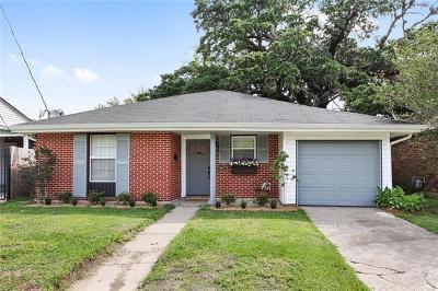 River Ridge, Harahan Single Family Home For Sale: 921 Oak Avenue