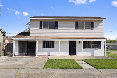 Marrero Single Family Home For Sale: 4001 Cypress Street