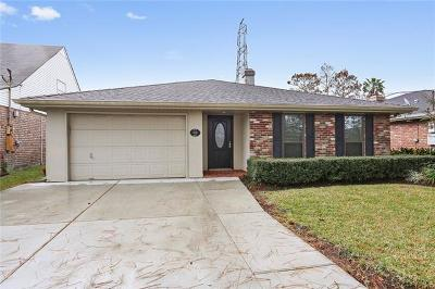 Kenner Single Family Home For Sale: 4733 David Drive