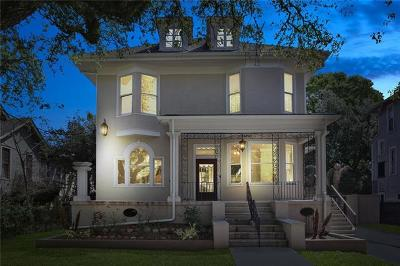 New Orleans Single Family Home For Sale: 2323 Napoleon Avenue