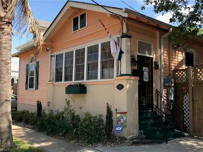 New Orleans Single Family Home For Sale: 3717 Palmyra Street