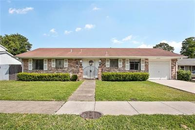 Kenner Single Family Home For Sale: 412 Holy Cross Place