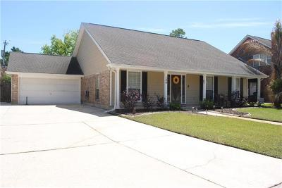 Destrehan, St. Rose Single Family Home Pending Continue to Show: 124 Melrose Drive