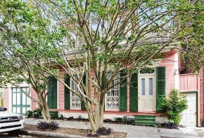 New Orleans Single Family Home For Sale: 909 Touro Street