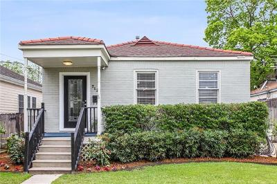Single Family Home Pending Continue to Show: 712 Metairie Lawn Drive