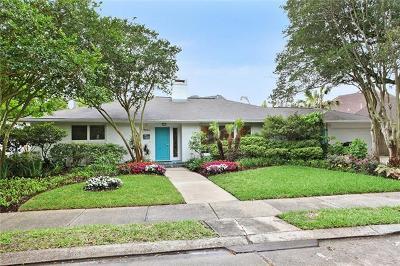 New Orleans Single Family Home For Sale: 7524 Garnet Street