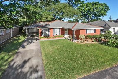 Metairie Single Family Home For Sale: 1040 Beverly Garden Drive