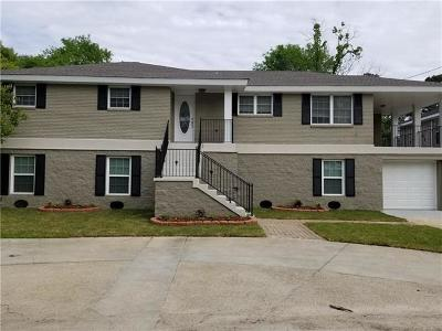 Slidell Single Family Home For Sale: 3004 S Palm Drive
