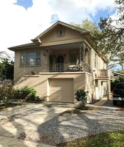 New Orleans Single Family Home For Sale: 819 Burdette Street