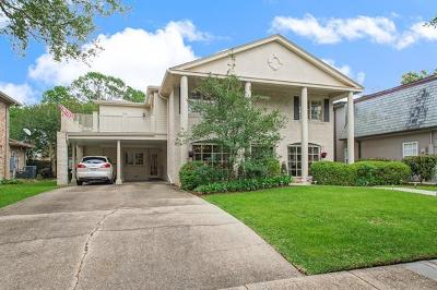 New Orleans Single Family Home Pending Continue to Show: 5511 Bellaire Drive