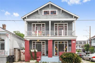 New Orleans Multi Family Home For Sale: 1301 Ursulines Avenue
