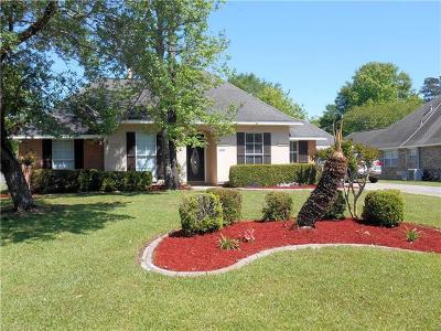 Slidell Single Family Home For Sale: 108 Woodruff Drive