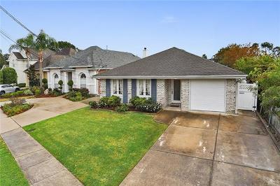 Metairie Single Family Home Pending Continue to Show: 4940 Jasper Street