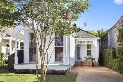 New Orleans Single Family Home For Sale: 5912 Chestnut Street