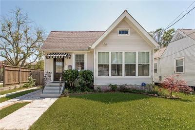 Metairie Single Family Home For Sale: 153 Gruner Road