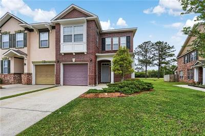 Madisonville Townhouse For Sale: 171 White Heron Drive