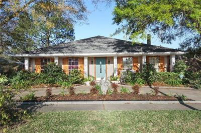 Kenner Single Family Home For Sale: 4217 Platt Street