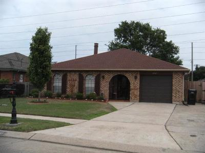 Kenner Single Family Home For Sale: 4441 David Drive