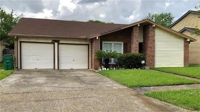 Harvey Single Family Home For Sale: 3836 Greenbriar Lane