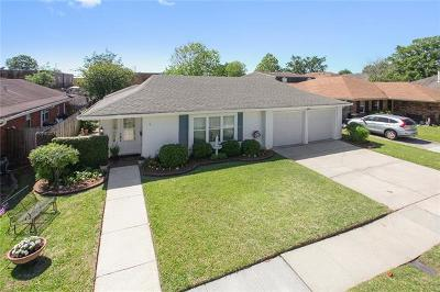 Kenner Single Family Home For Sale: 19 Antigua Drive