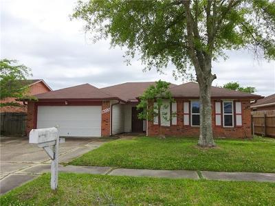 Harvey Single Family Home Pending Continue to Show: 4033 N Indigo Drive