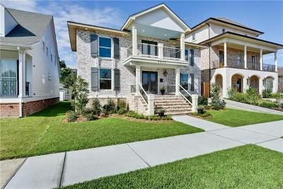 Lakeview Single Family Home For Sale: 6872 Canal Boulevard