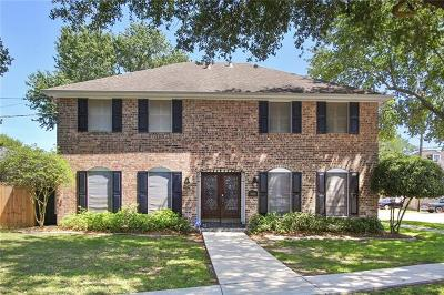 Metairie Single Family Home For Sale: 5001 Senac Drive