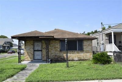 New Orleans Single Family Home For Sale: 3601 N Robertson Street
