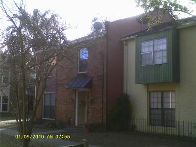 New Orleans Townhouse For Sale: 7500 Creighton Place #1