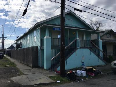 New Orleans Multi Family Home For Sale: 1900 Spain Street Street
